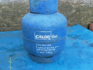 CALOR Gas 4.5kg Propane Bottle (EMPTY). Seven Sisters, London