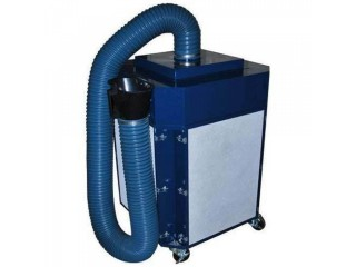 What are the top 4 warnings provided by the fume extraction systems?