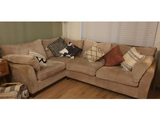Next L shaped 5/6 seater :and: 3 seater sofa