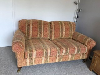 Fabric and feather 3+2 seater sofa set