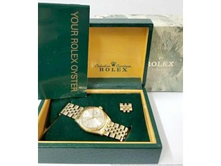 Rolex President Date/Just Gold watch