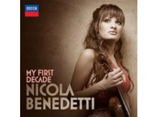 Nicola Benedetti Music CD My First Decade