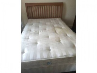 A double bed for sale