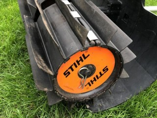 Stihl sweeper for combi unit