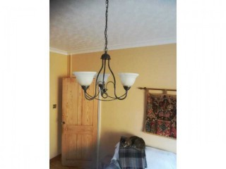 Three-Arm Ceiling Light