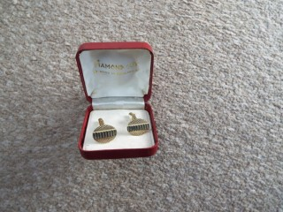 "Men's ""Diamond Cut"" Cufflinks"
