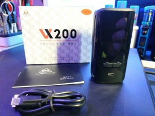 Augvape VX200 Box Mod in Black in perfect condition Vape Vaping Vaporiser. Wandsworth, London