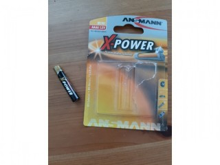 ANSMANN X-POWER AAAA / LR8 ALKALINE BATTERY Used For Microsoft Surface Pen