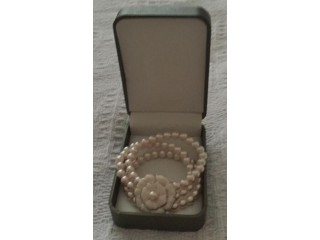 Beautiful Coleen Rooney's womens faux pearl bracelet