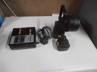 Panasonic Charger and !2v Floodlight