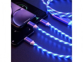 Led mobile phone charger cables