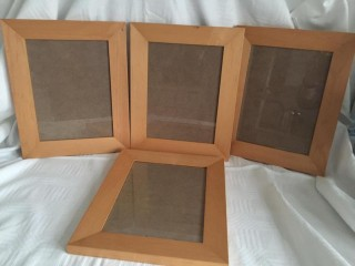 Picture frames Habitat wooden glass pictures frames