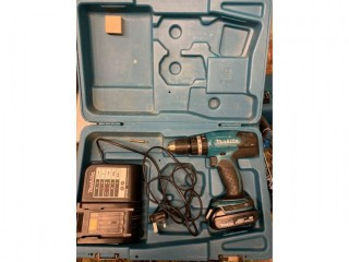 Makita BHP453SH 18V Li on Cordless Hammer Drill Driver. with Charger and Case