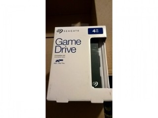 Seagate 4TB HDD for Playstation or PC usb3 (NEW)