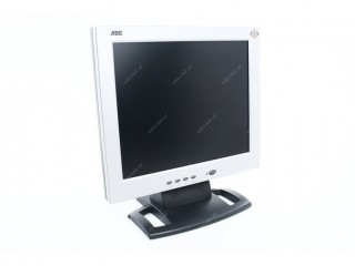 AOC 17inch LCD Flat screen VGA monitor with all leads in excellent working order