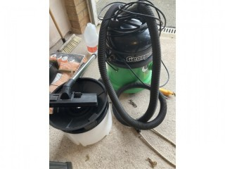 Numatic GVE370 Bagged Wet/Dry Vacuum Cleaner - Green