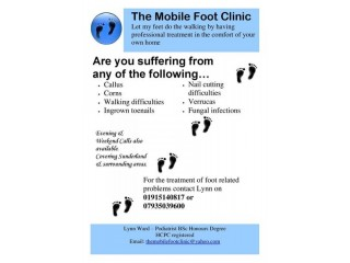 The Mobile Foot Clinic - mobile Podiatrist / Chiropodist