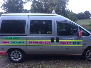 PARTY TAXI DRIVE AROUNDS IN HERTS & ESSEX