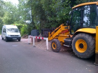 Digger and Operator hire