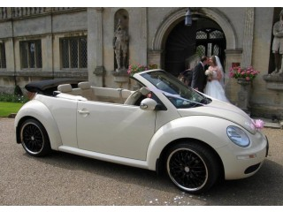 VW BEETLE Wedding Car Hire for the Leicestershire & East Midlands