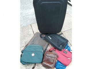 NOT sports bags but various man bags