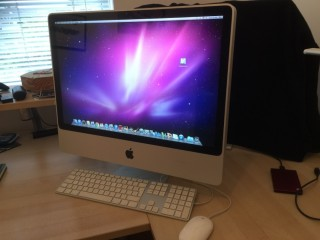 IMac 27inc with mouse and keypad