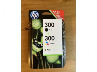 HP Two pack printer ink cartridges brand new in box 300