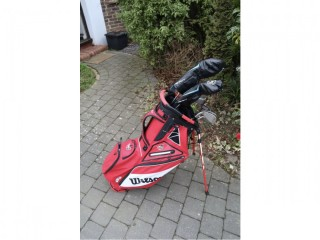 Wilson D7 irons, driver and 3 wood set