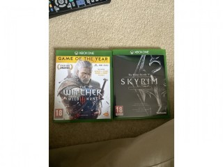 Skyrim special edition and the Witcher 3