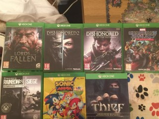 7 Xbox one games , in good condition