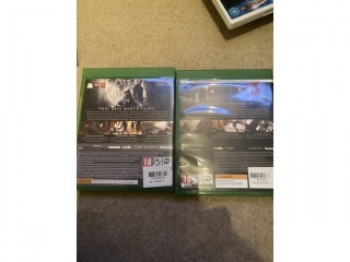 Dishonored 1 and 2 Xbox one games like new