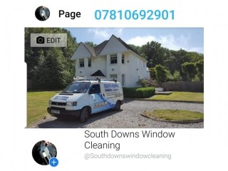 Window cleaner required