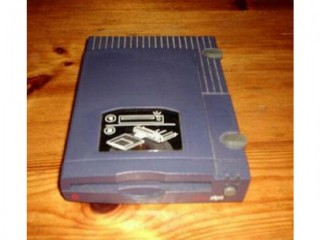 IOMEGA 100Mb ZIP DRIVE , PSU & Disk for ACORN A3010 to A7000 & RISC PC - WORKING