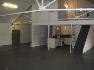 Characterful Large Commercial Space; 4.5m High Vaulted Ceiling; 1,900sqft; Kitchen/Shower