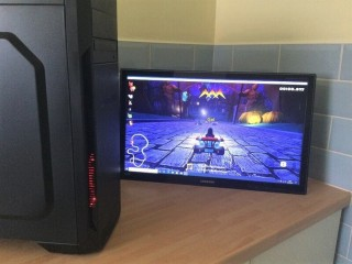 Intel Quad Core i5 3GHz Midi-Tower Unit with 2GB NVidia GeForce GT710 Gaming Card Fitted