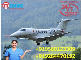 Reliable Air Ambulance from Ranchi with Medical Facility by Medivic