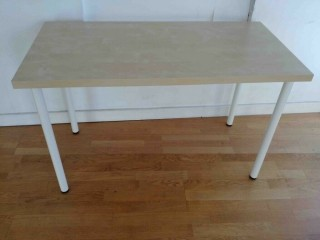 IKEA ADILS LINNMON COMPUTER PC OFFICE DESK DINING TABLE FOR HOME STUDY OFFICE LIVING BED ROOM £15