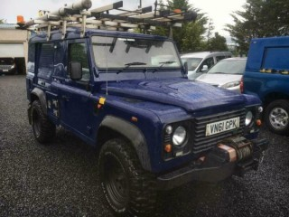 Land Rover 110 Defender 2.4TDi utility vehicle good spec