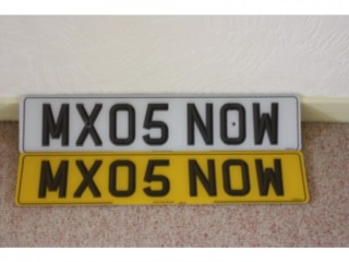 Cherished number plate New