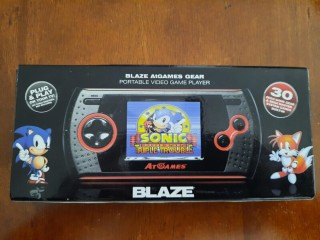 NEW BLAZE atGAME GEAR PORTABLE VIDEO GAME PLAYER