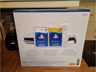 PS5 PlayStation 5 brand new & sealed + 12 months PS Now + £20 PS Store card
