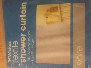 Shower curtains- WICKES