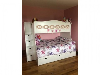 Bunk bed with slide Good Condition