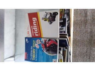 Theory test/ riding skills books Both as new
