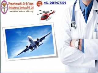 Panchmukhi Air Ambulance Services in Patna with All Curative Care