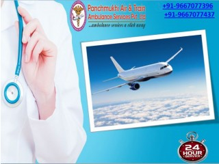 Emergency Air Ambulance Services in Kolkata is Available 365 Days by Panchmukhi