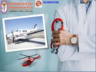 Hire the Available Air Ambulance Services in Guwahati from Panchmukhi