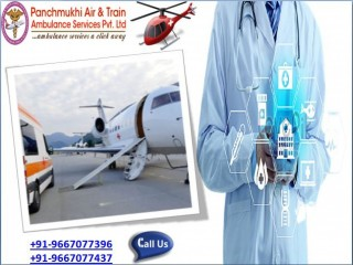 Choose the Air Ambulance Services in Bhubaneswar with Medical Equipment