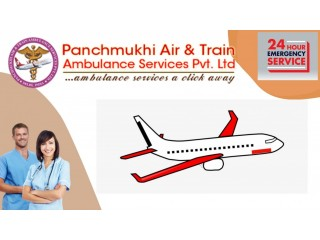 Book the Top Grade Air Ambulance Services in Dibrugarh by Panchmukhi
