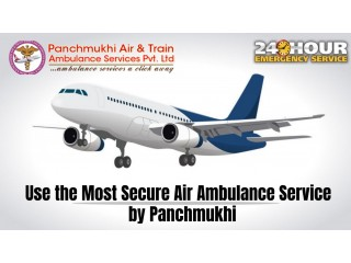 Finest ICU Support Air Ambulance Services in Allahabad by Panchmukhi